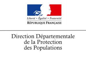 Logo de la Direction Départementale de la Protection des Populations